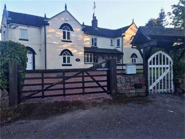 5 Bedrooms Detached House for sale in Leek Road, Wetley Rocks, Stoke-on-Trent, Staffordshire