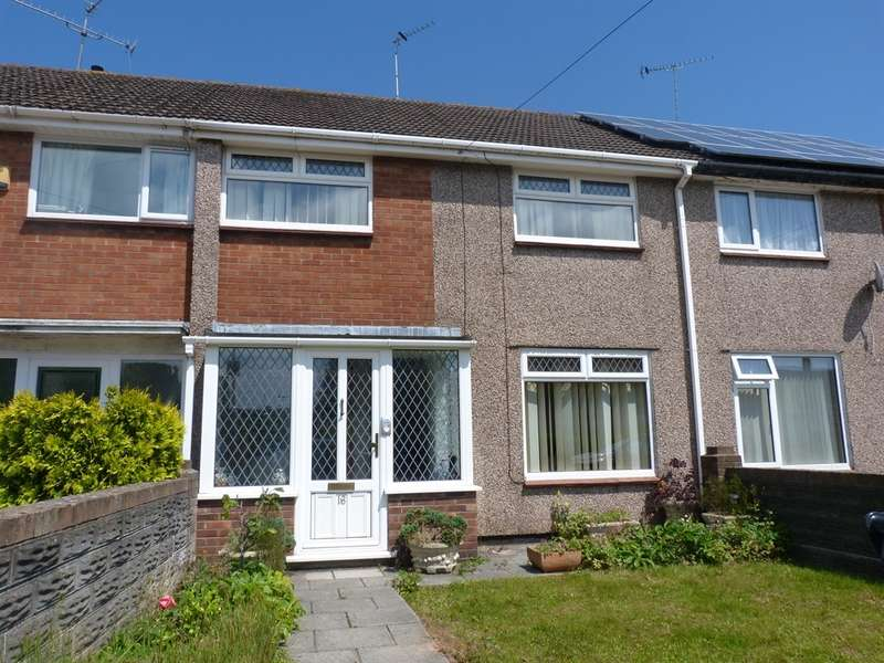 3 Bedrooms Terraced House for sale in Welland Crescent, Bettws, Newport