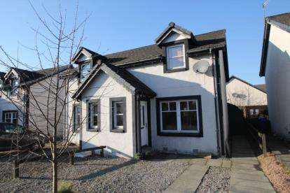 2 Bedrooms Semi Detached House for sale in Vorlich Crescent, Callander