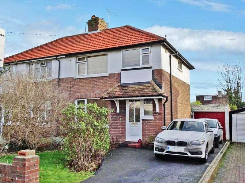 3 Bedrooms Semi Detached House for sale in Morland Avenue, Broadwater, Worthing, BN14