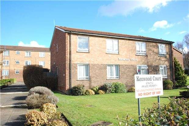 2 Bedrooms Flat for sale in Kenwood Court, 1 Elmwood Crescent, KINGSBURY, NW9 9AB