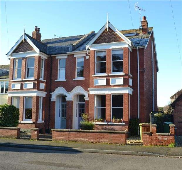 4 Bedrooms Semi Detached House for sale in 6 Coronation Road, Prestbury, CHELTENHAM, Gloucestershire, GL52 3DA