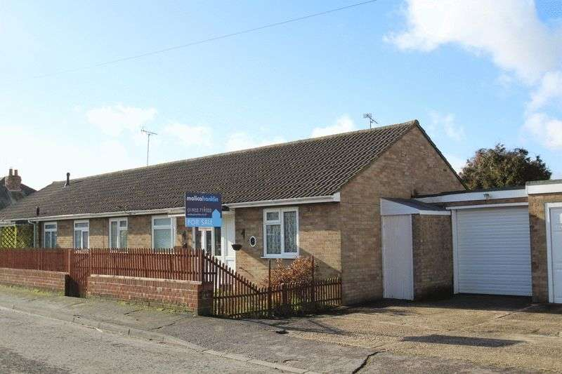 2 Bedrooms Semi Detached Bungalow for sale in Gladonian Road, Littlehampton