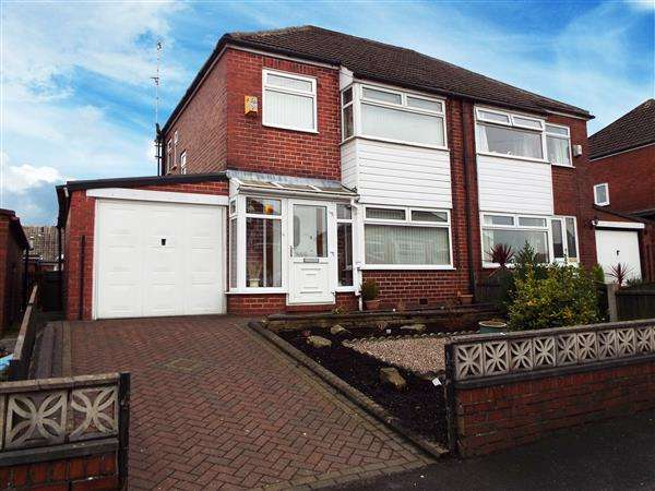 3 Bedrooms Semi Detached House for sale in Mildred Avenue, Royton