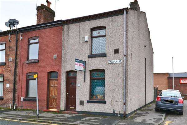 2 Bedrooms End Of Terrace House for sale in Cawdor Street, Leigh