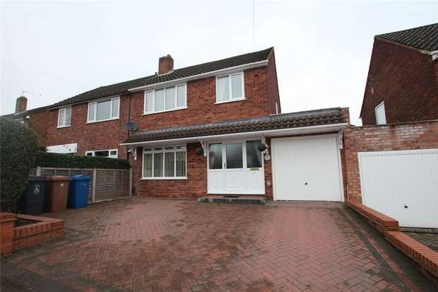 3 Bedrooms Semi Detached House for sale in Leyfields, Lichfield, Staffordshire