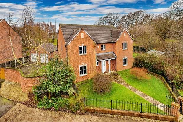 4 Bedrooms Detached House for sale in 55 Shoveller Drive, Apley, Telford, Shropshire