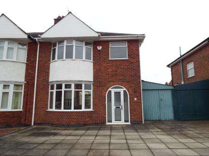 3 Bedrooms Semi Detached House for sale in Romway Avenue, Evington, Leicester, Leicestershire