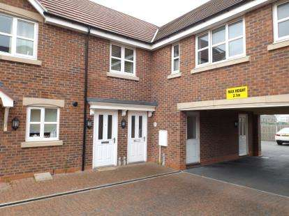 2 Bedrooms Maisonette Flat for sale in Spire Close, Lincoln, Lincolnshire