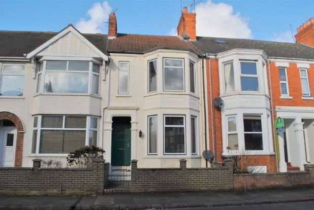 4 Bedrooms Terraced House for sale in Balmoral Road, Queens Park, Northampton NN2 6LA