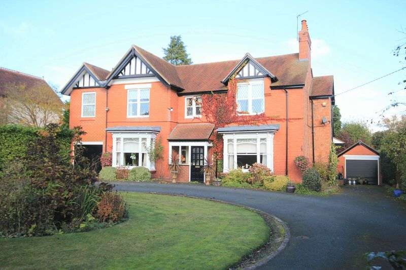 5 Bedrooms Detached House for sale in Wrexham Road, Whitchurch