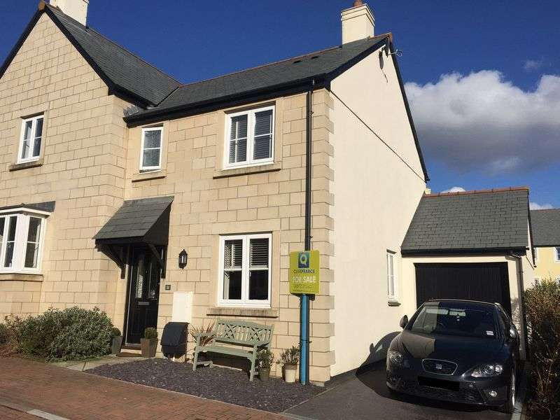 3 Bedrooms Semi Detached House for sale in Beechwood Parc, Truro