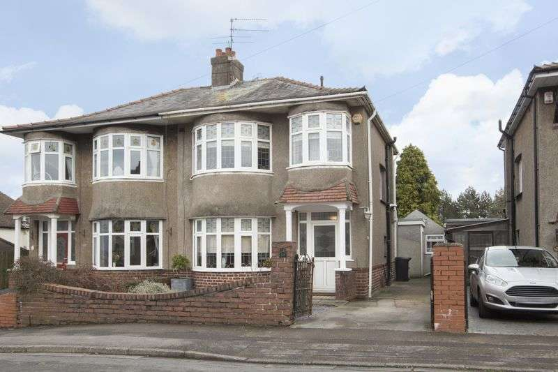 3 Bedrooms Semi Detached House for sale in Hove Avenue, Newport