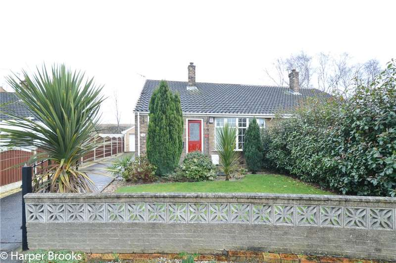 2 Bedrooms Semi Detached Bungalow for sale in West View Crescent, Goldthorpe, Rotherham, S63
