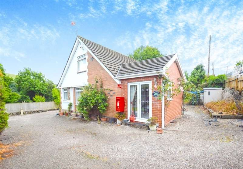 4 Bedrooms Detached Bungalow for sale in School Street, Llanbradach, Caerphilly