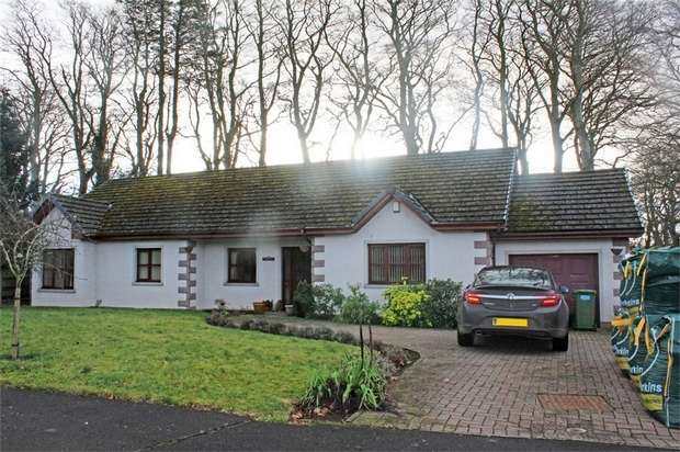 4 Bedrooms Detached Bungalow for sale in Cottons Corner, Letham Grange, Arbroath, Angus
