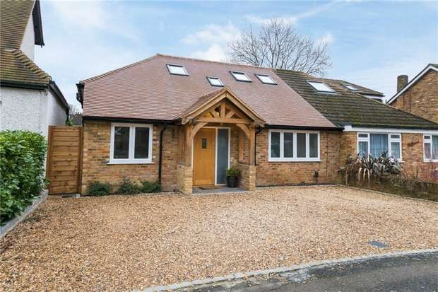 4 Bedrooms Semi Detached House for sale in Cross Lanes, Chalfont St Peter, Buckinghamshire