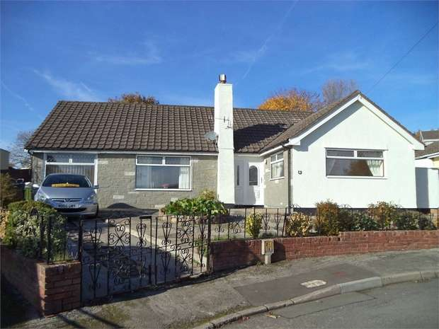 3 Bedrooms Detached Bungalow for sale in Hazel Court, Rassau, EBBW VALE, Blaenau Gwent