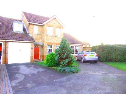 3 Bedrooms Link Detached House for sale in St. Georges Close, Appleton, Warrington, Cheshire