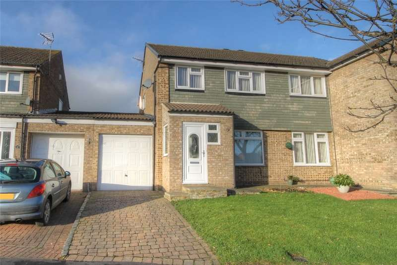 3 Bedrooms Semi Detached House for sale in Rochester Close, Etherley Dene, Bishop Auckland, DL14