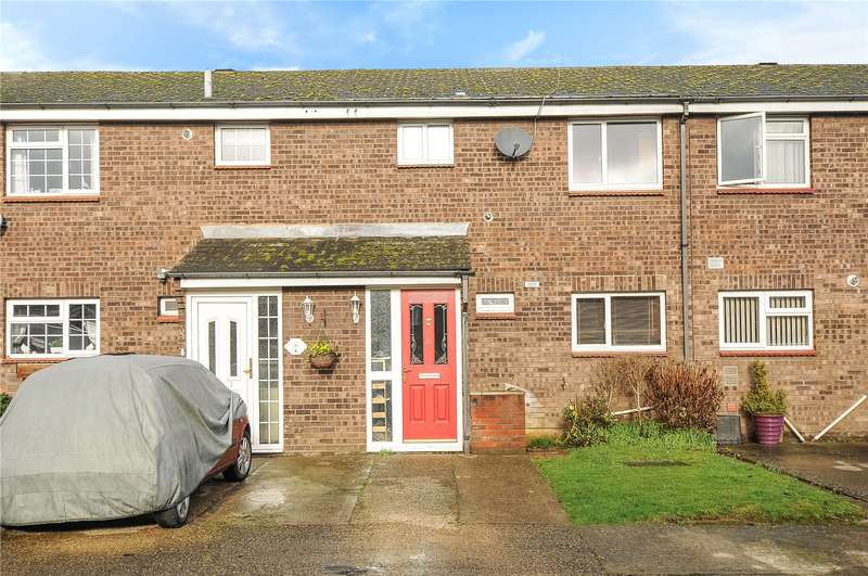 3 Bedrooms Terraced House for sale in Curtis Close, Mill End, Hertfordshire, WD3