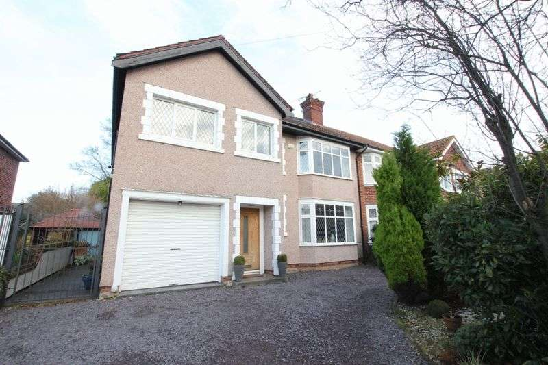 6 Bedrooms Semi Detached House for sale in Bryanston Road, Prenton, Wirral