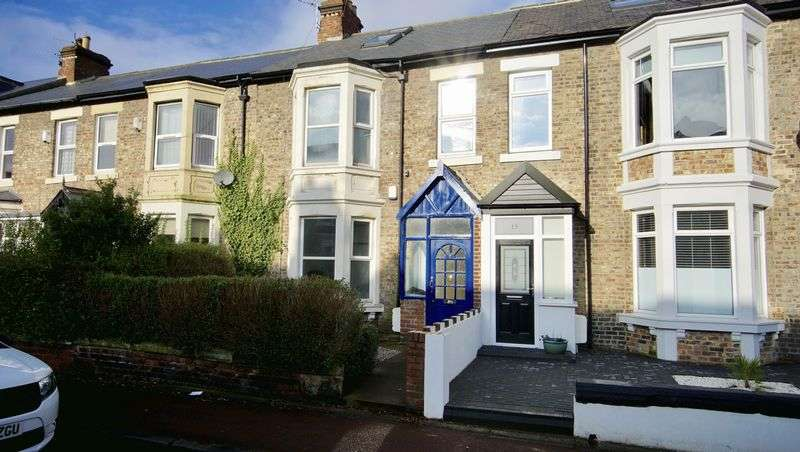 5 Bedrooms Terraced House for sale in ROTHBURY TERRACE Heaton