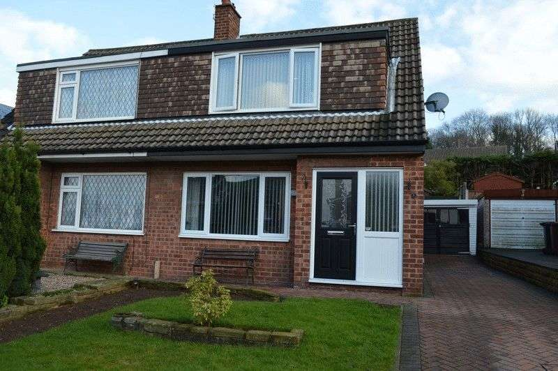 3 Bedrooms Semi Detached House for sale in Leabank Avenue, Leeds