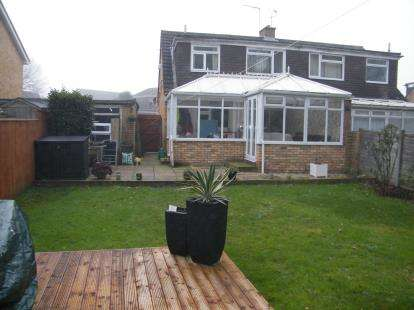 3 Bedrooms Semi Detached House for sale in Canford Heath, Poole, Dorset