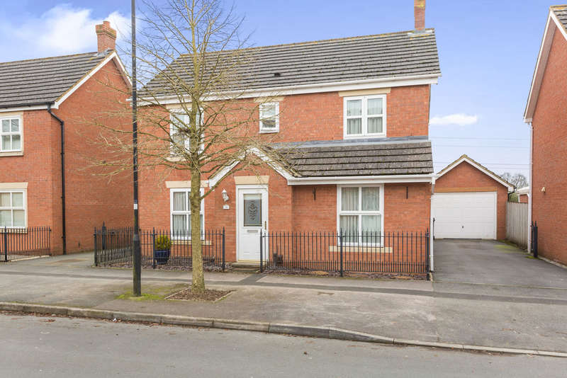 4 Bedrooms Detached House for sale in Thresher Drive, Abbey Fields
