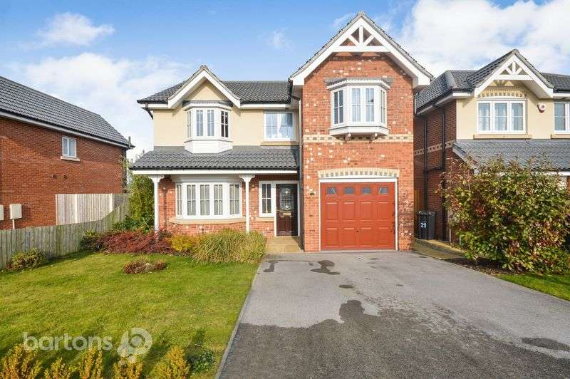 4 Bedrooms Detached House for sale in Montgomery Close, Treeton, Rotherham