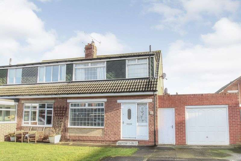 3 Bedrooms Semi Detached House for sale in Chartwell Close, Marske
