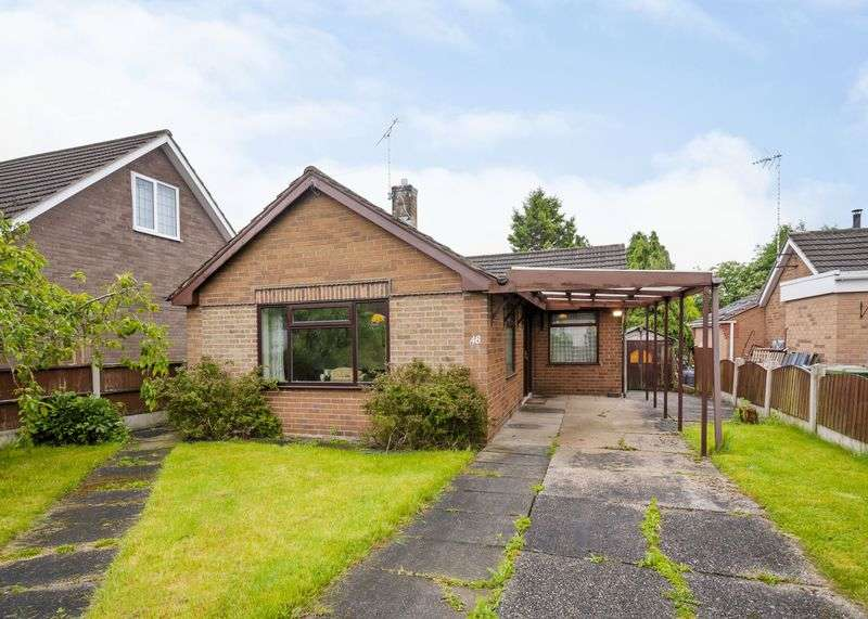 2 Bedrooms Detached Bungalow for sale in Peveril Drive, Alfreton