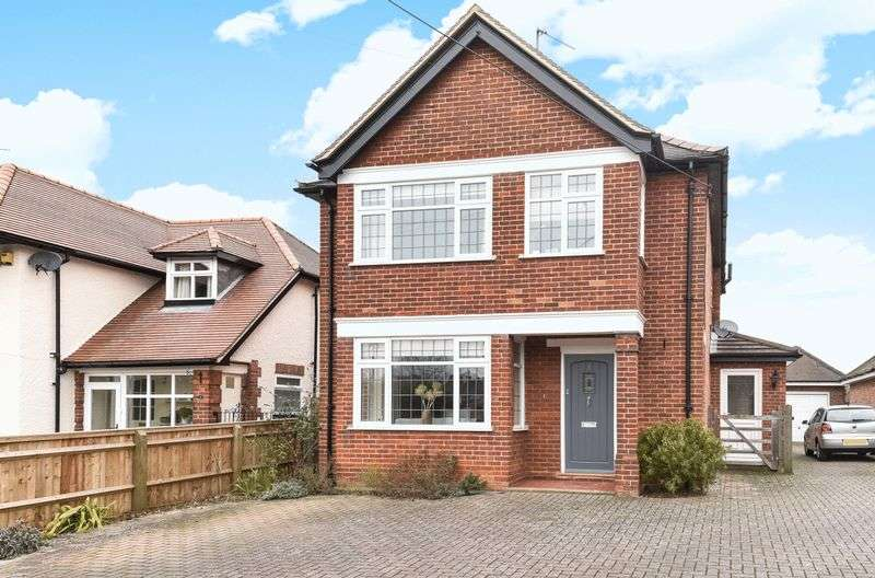 4 Bedrooms Detached House for sale in Abbott Road, Abingdon
