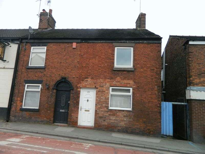 2 Bedrooms Terraced House for sale in Crewe Road, Wheelock