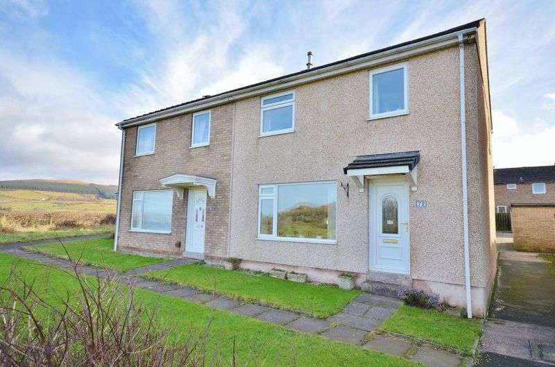 3 Bedrooms Semi Detached House for sale in Dent View, Egremont