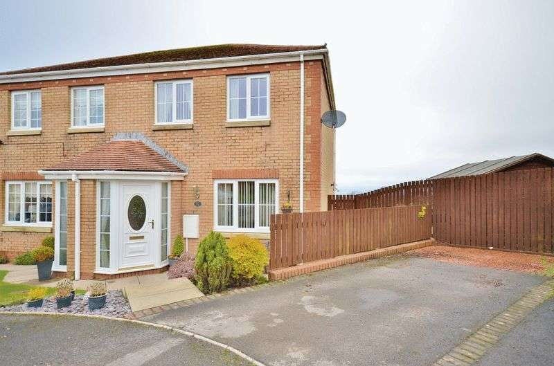 3 Bedrooms Semi Detached House for sale in Holly Bank, Whitehaven