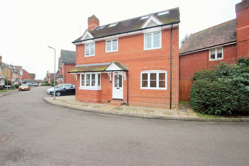 5 Bedrooms Detached House for sale in Maltings Park Road, West Bergholt, Colchester