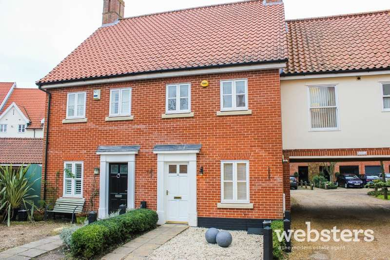 3 Bedrooms Terraced House for sale in Indigo Yard, Norwich