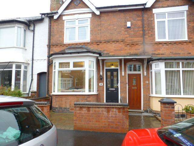 3 Bedrooms Terraced House for sale in Grosvenor Road, Harborne, Birmingham, West Midlands, B17 9AN