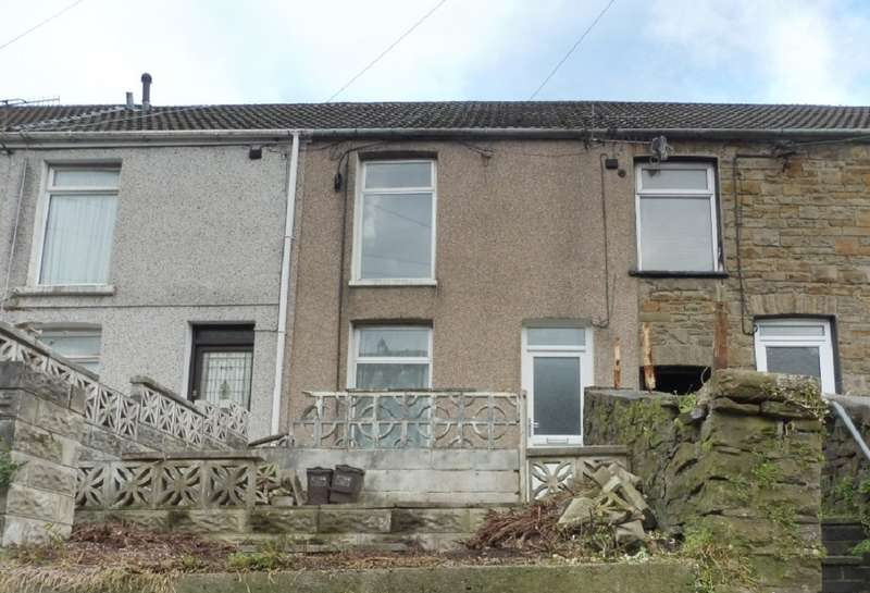 2 Bedrooms Terraced House for sale in Oxford Street, Pontycymer, Bridgend