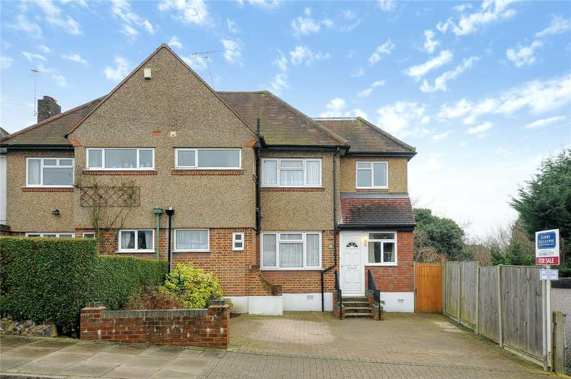 4 Bedrooms Semi Detached House for sale in Lyndhurst Avenue, Pinner, Middlesex, HA5