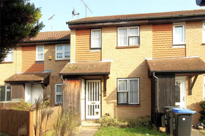 2 Bedrooms Terraced House for sale in Hawkswell Close, Woking, Surrey, GU21