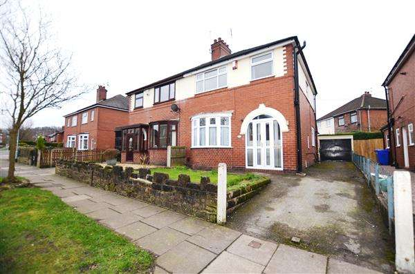 3 Bedrooms Semi Detached House for sale in Crossway Road, Sneyd Green, Stoke-On-Trent