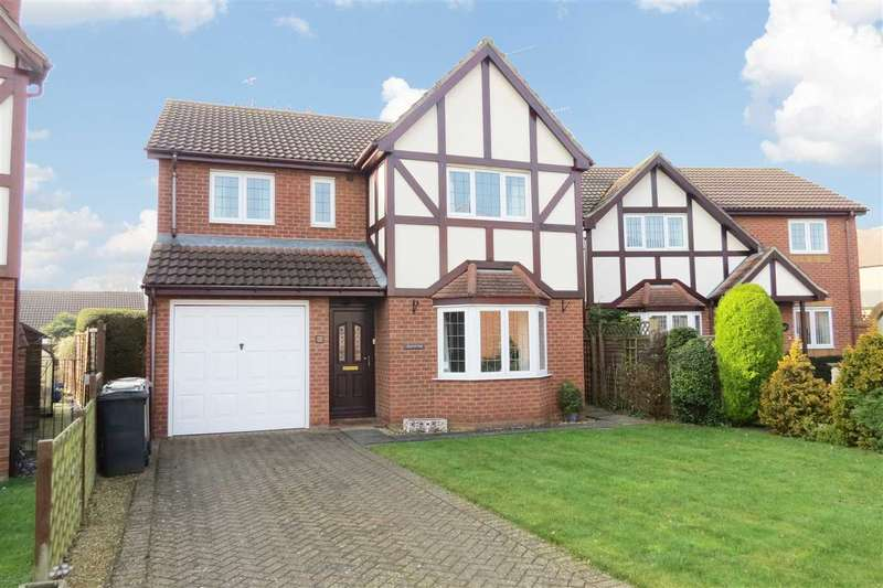 4 Bedrooms Detached House for sale in Nursery Court, Sleaford