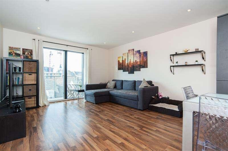 1 Bedroom Flat for sale in Kings Quarter Apartments, 170 Copenhagen Street, London, N1