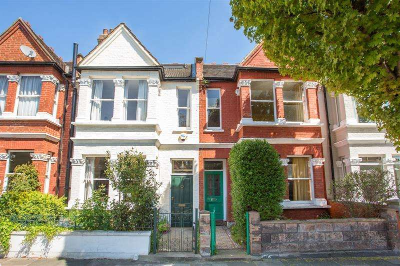 3 Bedrooms Terraced House for sale in Hatfield Road, Chiswick, London, W4