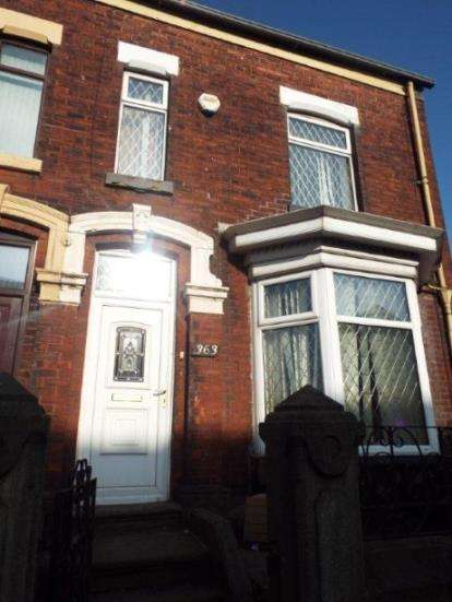 3 Bedrooms End Of Terrace House for sale in Bury Road, Bolton, Greater Manchester, BL2