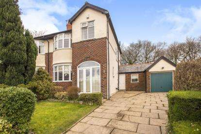3 Bedrooms Semi Detached House for sale in Yewlands Drive, Fulwood, Preston, Lancashire, PR2