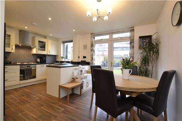 3 Bedrooms Terraced House for sale in Rownham Mead, BRISTOL, BS8 4YD